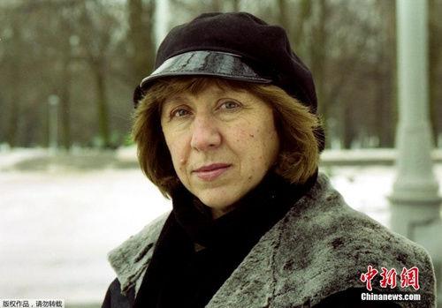 女作家阿列克谢耶维奇获诺奖纪实性是其作品最大特点
