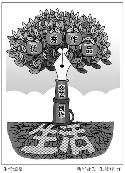 漫画:生活源泉